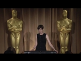 Anne Hathaway on Oscar Dress, Her Pal Spielberg