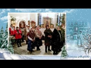 Зима в храме