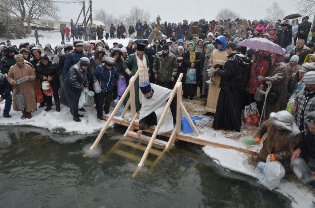 В ст.Зеленчукской прошло Великое освящение воды