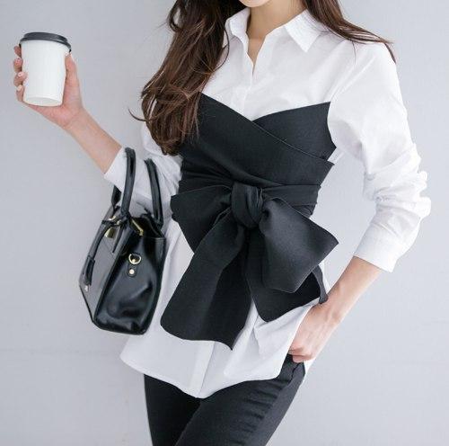 Стильная рубашка+блузка