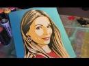 Как создать портрет в стиле поп-арт! Мастерская Аси Малевич!