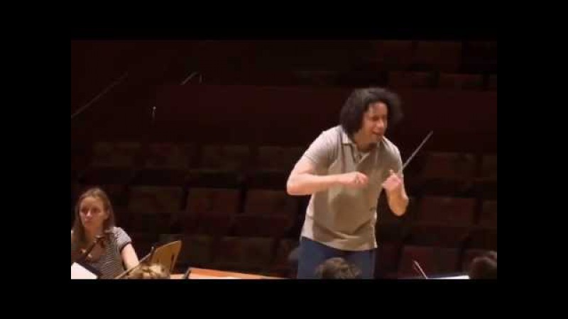 Gustavo Dudamel and the LA Phil Rehearse Tchaikovskys Romeo and Juliet Overture