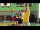 Сюжет на обласному ТБ про змагання в смт Білокуракіне з гирьового спорту