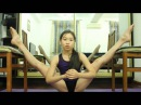 Художественная гимнастика, как сесть на шпагат за две недели