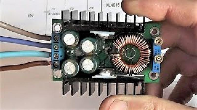 Доработка и тест, преобразователя DC-DC Step Down Adjustable Constant Voltage. Часть 3