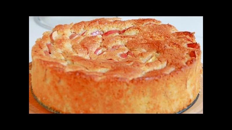 Быстрый и вкусный рецепт шарлотки с яблоками в духовке с пошагово