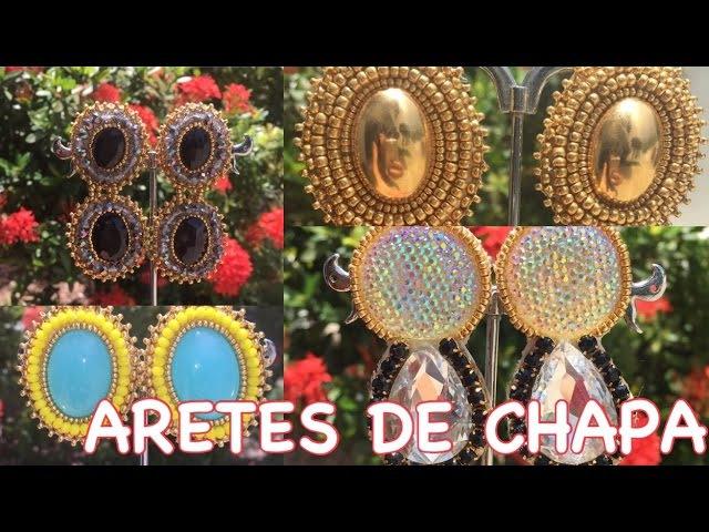 CHAPAS (PENDIENTES-ARETES) -LILYPAYAMPS