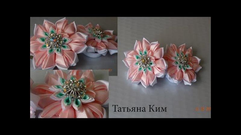 Резиночки Канзаши/Канзаши/Kanzachi rubber bands/簪