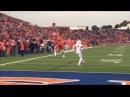 San Angelo Central 68 WR Adam West 1-Handed Grab vs. Allen- SCtop10