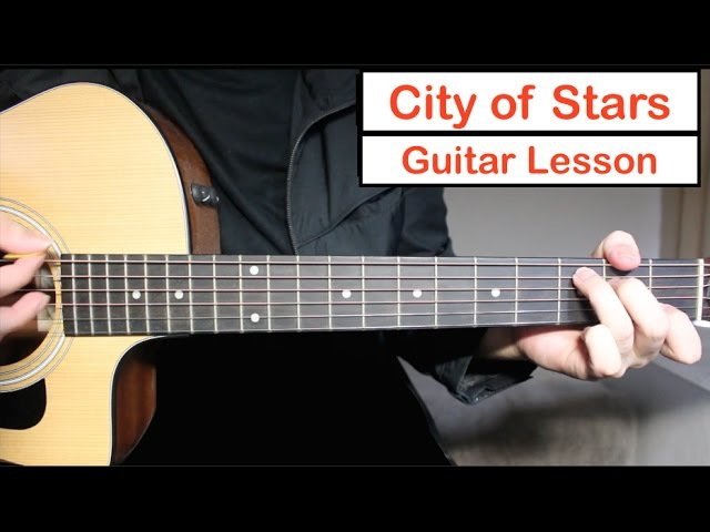 City of Stars - Ryan Gosling, Emma Stone | Guitar Lesson (Tutorial) How to play Chords