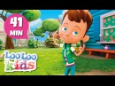 Head, Shoulders, Knees and Toes - The BEST Songs and Nursery Rhymes for Children | LooLoo Kids