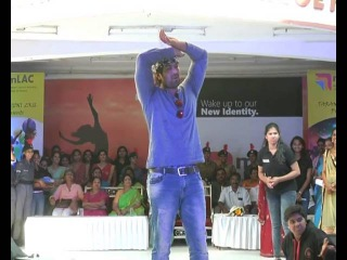 Actor Yash Dance in women college Function | Exclusive | Rocking Star Yash