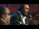 Luciano Pavarotti &amp Stevie Wonder - Peace Wanted Just To Be Free (1080pHD)