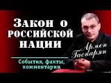Армен Гаспарян. Закон о российской нации