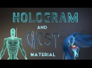 Blender Tutorial: How to make a Hologram and Ghost Material