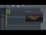 Грустная мелодия. FL Studio. Под лирический рэп