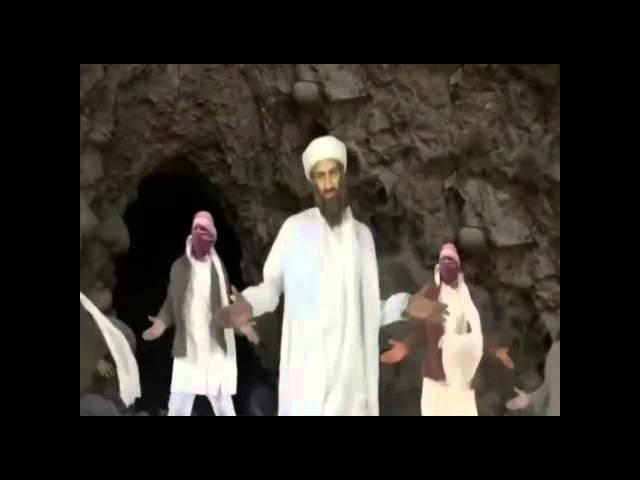 Osama bin laden dance