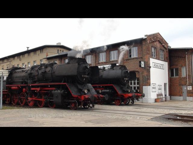 Historischer Lokschuppen Wittenberge 30 4 2016