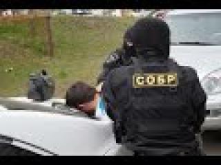 СОБР брал штурмом мошенника из соц сети ВКонтакте оперативная съёмка