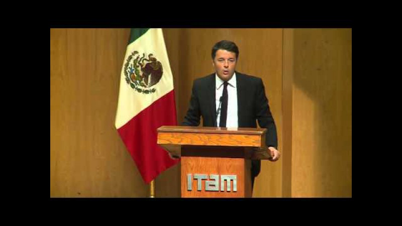 Renzi all'Università ITAM (VERSIONE HD)