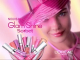 Natalia Vodianova - L'Oreal Glam Shine Sorbet