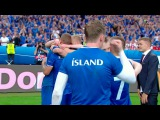 Комментатор Исландии сорвал голос, болея за свою команду на Евро-2016