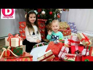 ✪Новогодние Подарки кукла Беби Борн Костюм Скай Сундук Сладостей//Christmas Gifts Doll Bab...