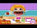 Trò chơi trẻ em ♥ Bé Na đi bác sĩ chữa bệnh viêm họng (Chị bí đỏ lồng tiếng)
