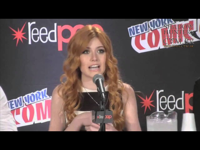 PAINEL SHADOWHUNTERS - New York Comic Con [LEGENDADO]