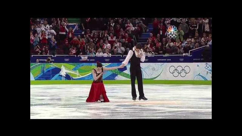 [HD]Tessa Virtue Scott Moir OD 2010 Vancouver Olympics (Farrucas by Pepe Romero )