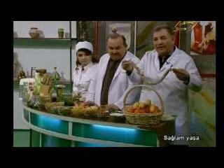 1000Video - Babasil, Qebzlik, (Геморой) - Saglam Yasa Space Tv 28.03.2014