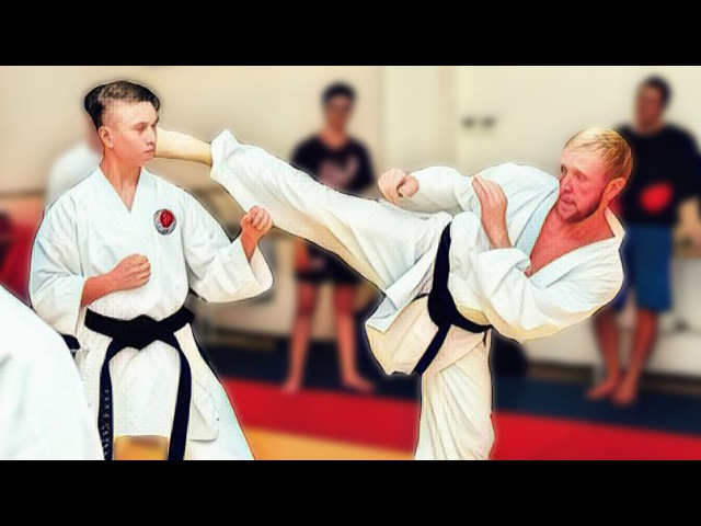 Kumite drills. Basics of mirrored position in karate (distance, common mistakes, attack variations)