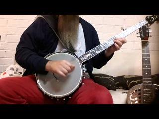 Scotland the Brave Clawhammer Banjo