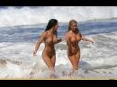 Смешное Видео Приколы Ржач лесбиянки на пляже разделись голые сиськи нудисты см