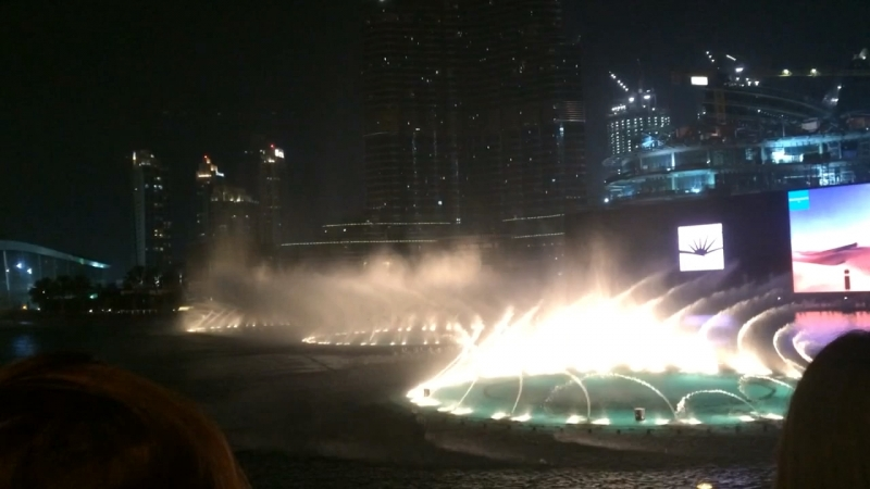 🙈❤️❤️ @ Burj Khalifa/Dubai Mall - Dancing Fountain