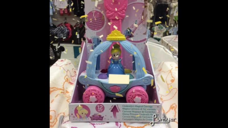 Карета Золушки Chicco Disney