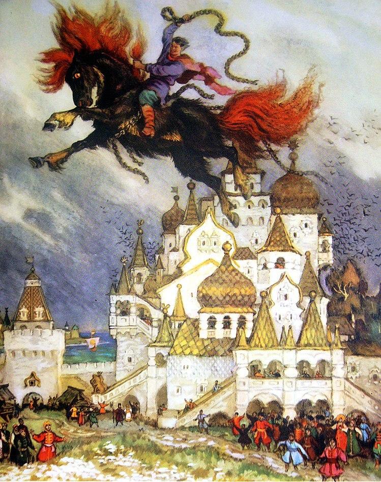 иллюстрации к русским сказкам и их художники