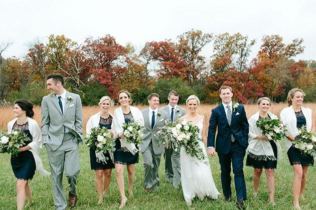 EFMZgLeUNSc - Необыкновенно романтическая свадьба (30 фото)
