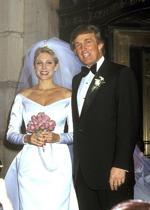 Дональд Трамп и Марла Мейплз