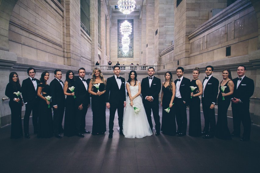 Qd5 7LumEGY - Свадьба в черно-белом стиле (30 фото)