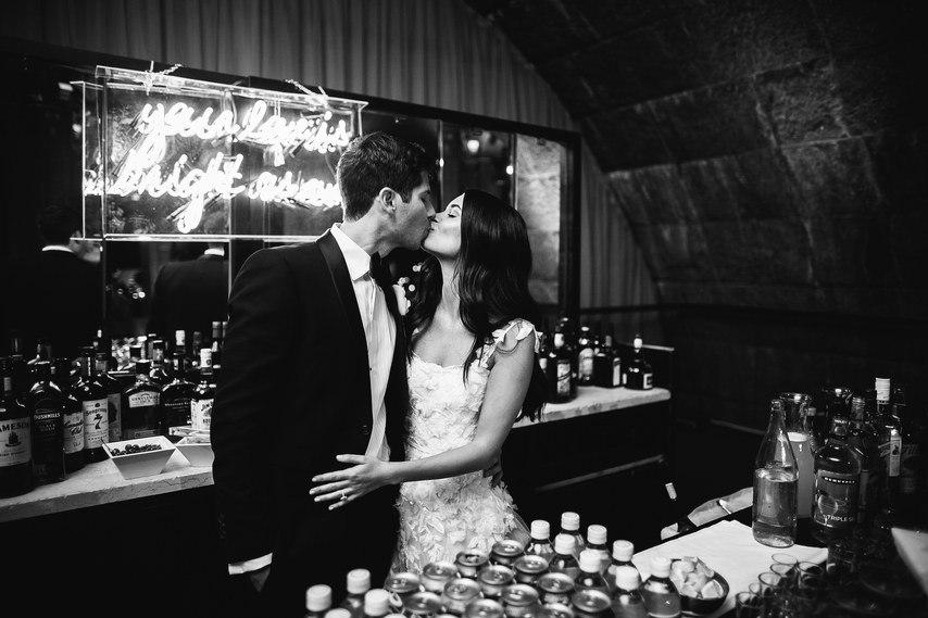 NqPkdgbGnu8 - Свадьба в черно-белом стиле (30 фото)