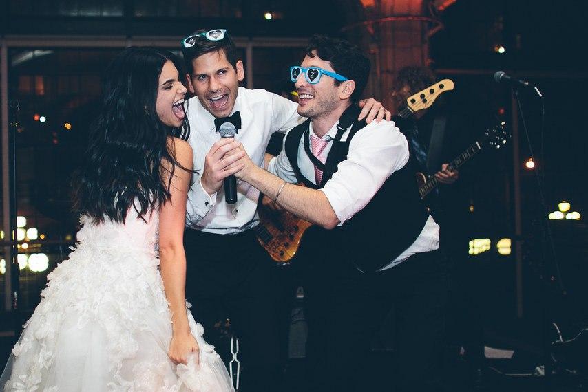 mIgeJ mTa9c - Свадьба в черно-белом стиле (30 фото)