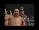 My1 ***** The Bushwhackers vs Nikolai Volkoff The Iron Sheik Heroes Of Wrestling 1999