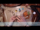 Octopus Mixed Media Tutorial by Gabrielle
