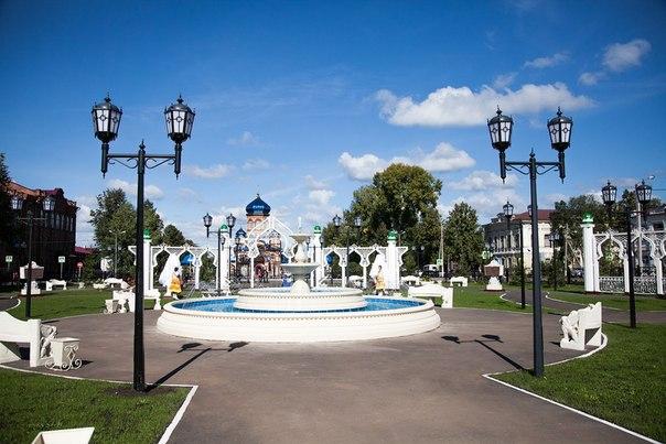 В Чистополе запустили три фонтана