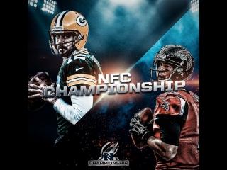 packers vs falcons  NFC Championship