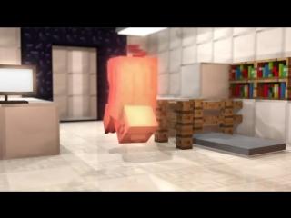Майнкрафт мультфильм Зачарованная свинья Катастрофа
