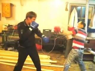 Бойня в столярке WBC