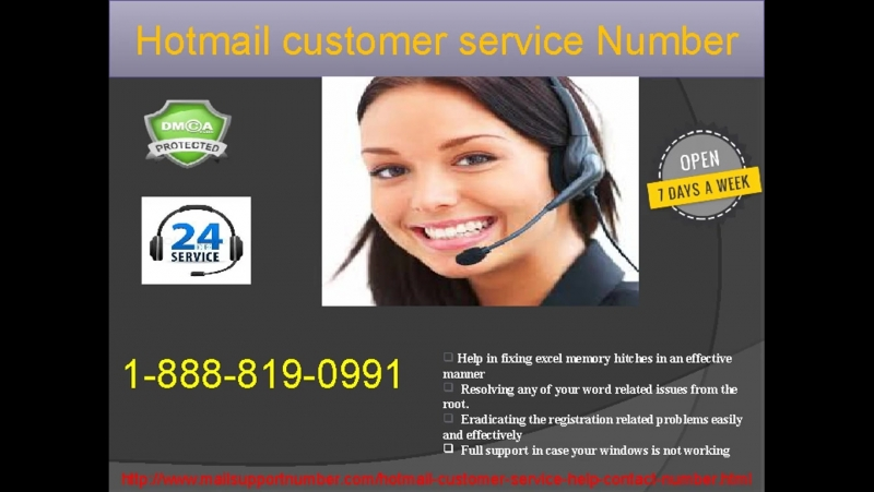 Contact Hotmail Customer Service Number 1-888-819-0991 team by calling at 000000 toll-free numbers