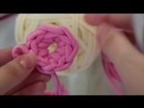 Скользящая петля или кольцо амигуруми